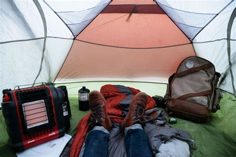How To Heat Your Tent