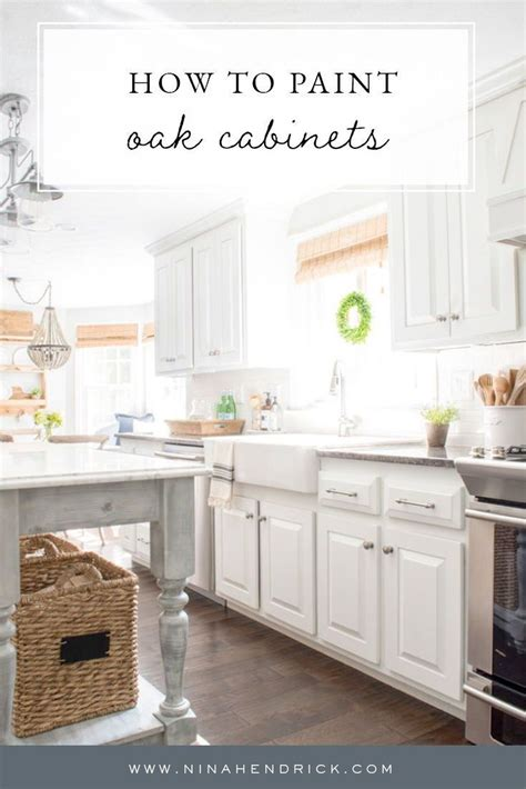 How To Hide The Grain In Oak Cabinets