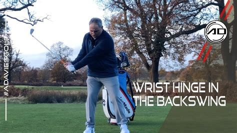 How To Hinge Your Wrists In Golf