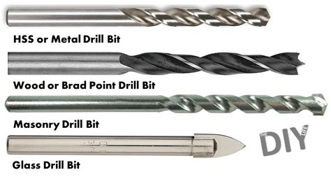How To Identify Wood Drill Bit