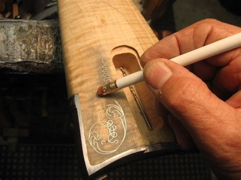 How To Inlay Brass Wire Into Wood