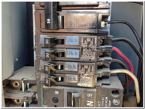 How To Install A 30 Amp Circuit Breaker