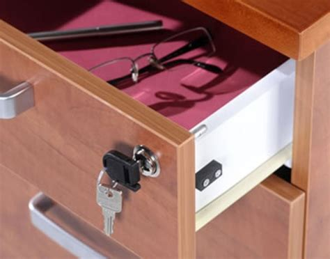 How To Install A Lock On Desk Drawer