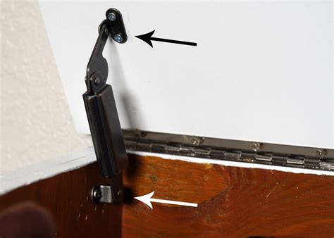 How To Install A Piano Hinge On A Toy Box