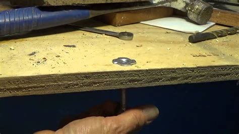 How To Install A T Nut