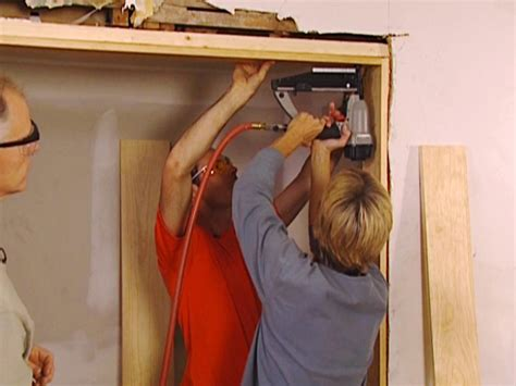 How To Install A Wood Door Jamb