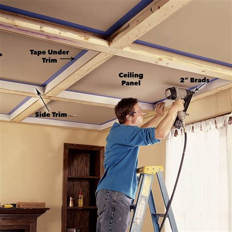 How To Install A Wood Panel Ceiling