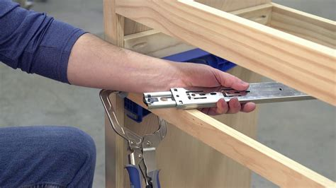 How To Install Accuride Center Mount Drawer Slides