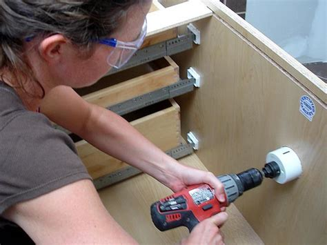 How To Install Bathroom Cabinets Video