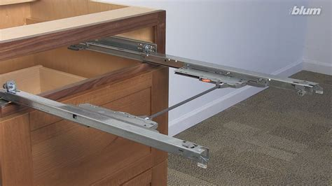 How To Install Blum Tandem Undermount Drawer Slides Into Face Frame Cabinetry