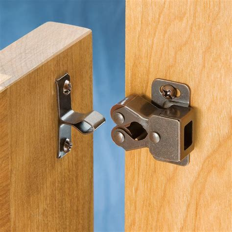How To Install Cabinet Doors Double Roller Catches