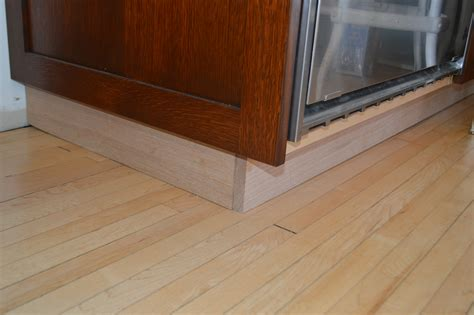 How To Install Cabinet Toe Kick Trim