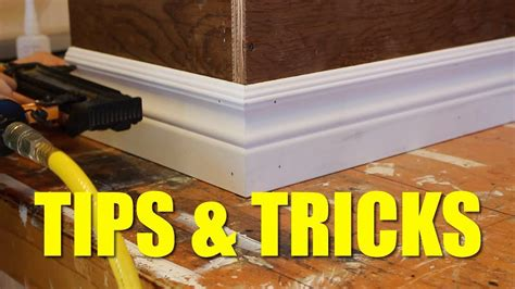 How To Install Casing And Baseboard