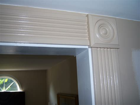 How To Install Casing Trim With Rosette Trim