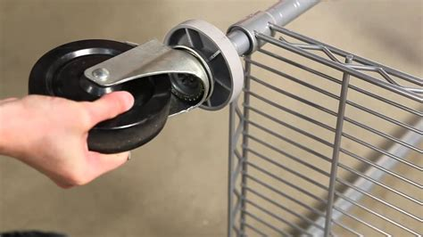 How To Install Caster Wheels In Shelve Pole