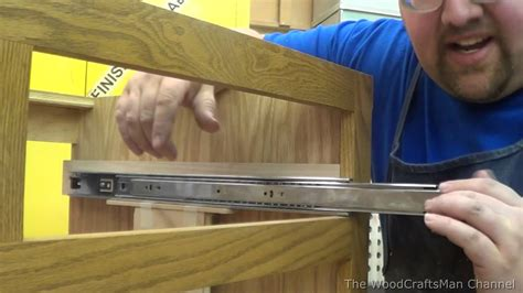 How To Install Drawer Slides On Face Frame Cabinets Joined