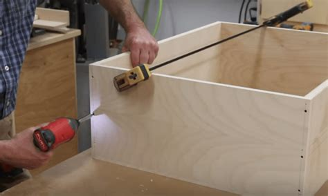 How To Install Drawer Slides Shop Cabinets