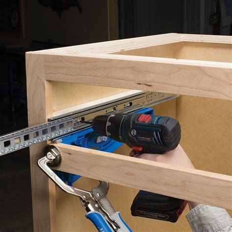 How To Install Drawer Slides With Kreg Jig