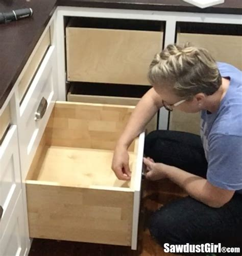 How To Install False Drawer Fronts