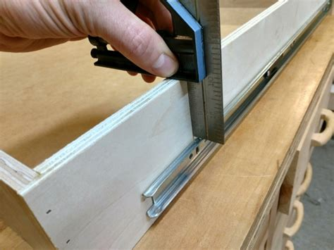 How To Install Full Extension Drawer Slides