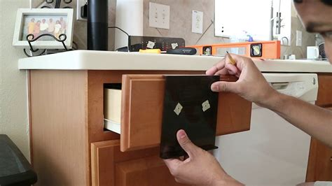 How To Install Hardware On Kitchen Cabinets