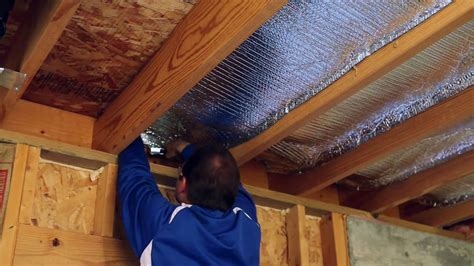 How To Install Insulation In Ceiling Of Basement