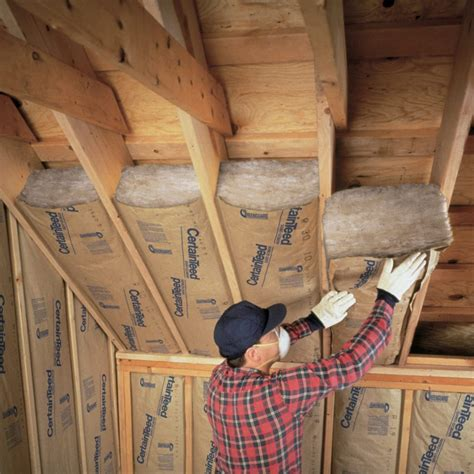 How To Install Insulation In Garage Attic