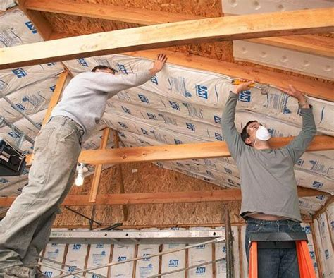 How To Install Insulation In Garage Ceiling