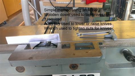 How To Install Jointer Knives