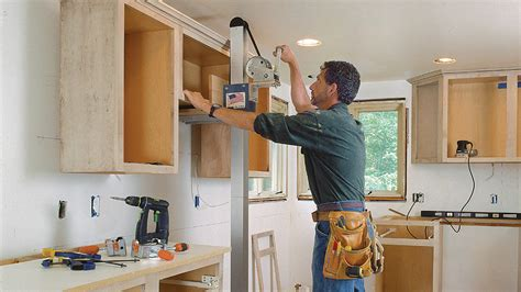 How To Install Kitchen Cabinets Video