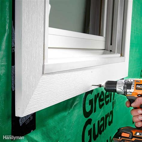 How To Install Pvc Window Casing