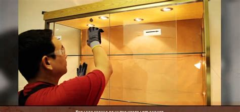 How To Install Sliding Doors On A Cabinet