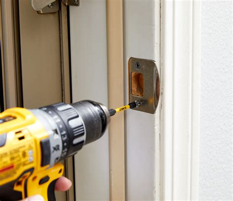 How To Install Strike Plate On Door Jamb