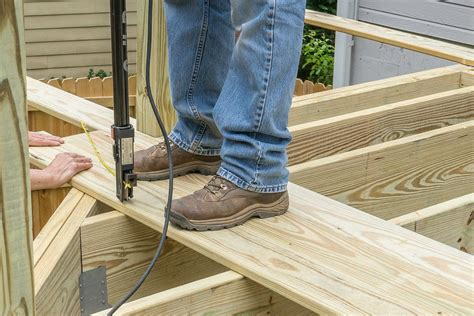 How To Install Timber Decking