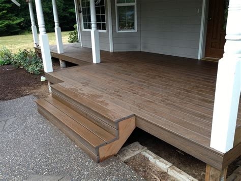 How To Install Trex Composite Decking On Stairs