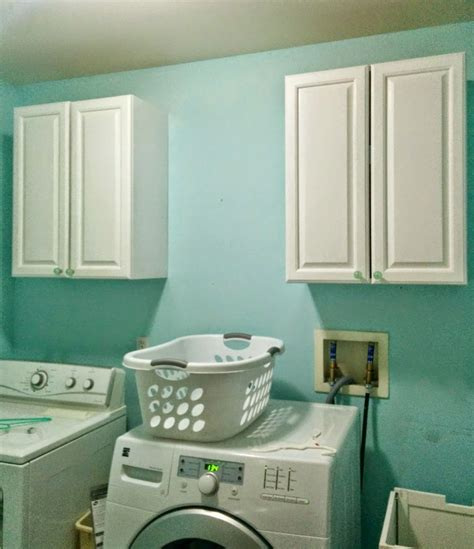 How To Install Upper Cabinets In Laundry Room