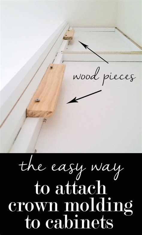 How To Install Wall Cabinet Molding
