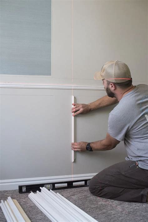 How To Install Wall Trim For Octagon Room