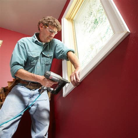 How To Install Window Trim Molding Easy