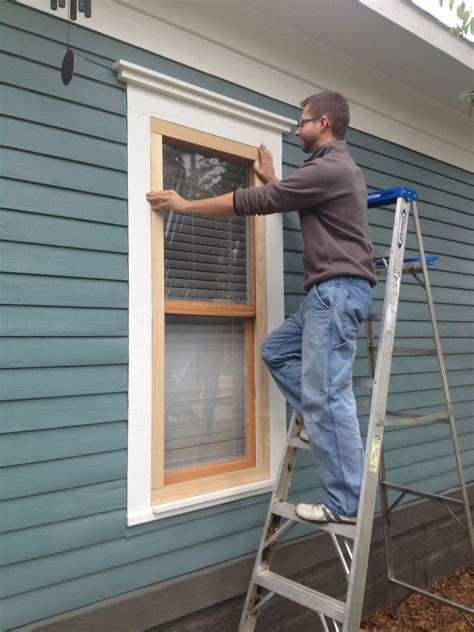 How To Install Wood Storm Windows