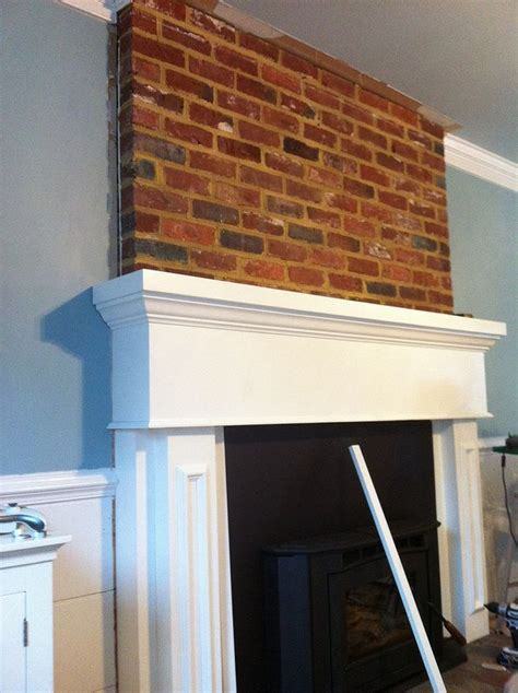 How To Install Wood Trim Above Fireplace