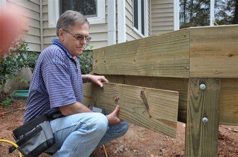 How To Install Wooden Deck Steps