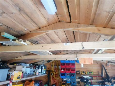 How To Insulate A Garage Ceiling Peak