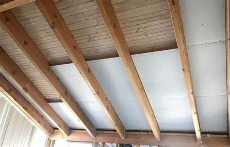 How To Insulate Roof With Exposed Rafters