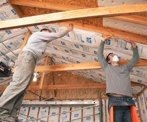 How To Insulate The Underside Of A Garage Roof