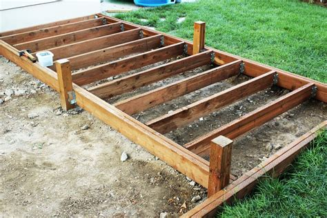 How To Join Joists For Decking