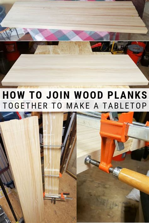 How To Join Wood Together To Make A Table