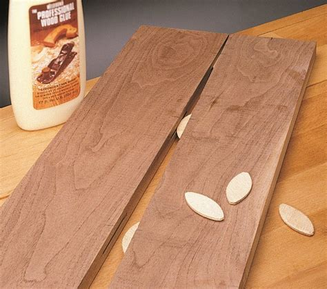 How To Join Wood Using Biscuits