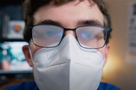 How To Keep Glasses From Fogging When Wearing A Dust Mask