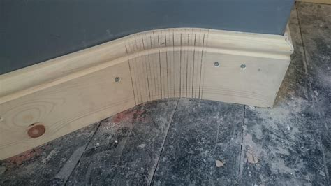 How To Kerf Baseboard